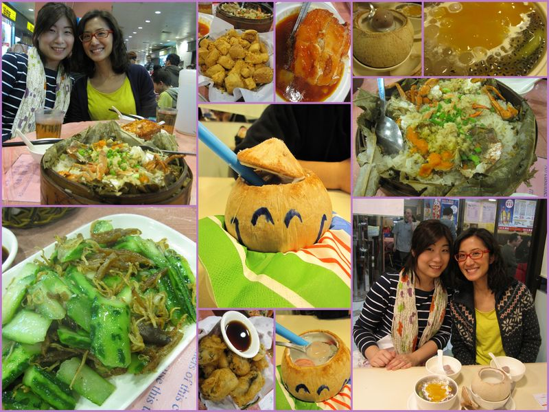 Dinner with kristin in tai po